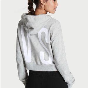 Victoria's Secret cropped hoodie